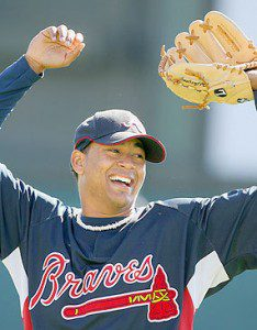 Jair Jurrjens Celebrating